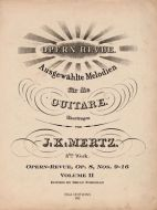 J. K. Mertz Opern-Revue, Op. 8 Nos. 9-16 Volume II (digital edition)