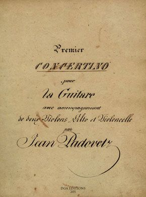 Ivan Padovec Premier Concertino (digital edition)